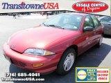1999 Cayenne Red Metallic Chevrolet Cavalier Sedan #31426659