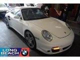2007 Carrara White Porsche 911 Turbo Coupe #31426230