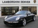 2007 Black Porsche 911 Carrera 4S Cabriolet #3137062