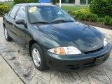 2002 Forest Green Metallic Chevrolet Cavalier Sedan #31426489