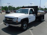 2006 Summit White Chevrolet Silverado 3500 Regular Cab Chassis #31426505