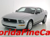 2007 Satin Silver Metallic Ford Mustang V6 Deluxe Coupe #31426111