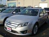 2010 Brilliant Silver Metallic Ford Fusion Hybrid #31426116
