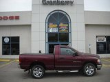 2003 Dark Garnet Red Pearl Dodge Ram 1500 SLT Regular Cab 4x4 #31426124