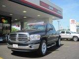 2008 Brilliant Black Crystal Pearl Dodge Ram 1500 Lone Star Edition Quad Cab #31426318