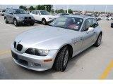 2002 BMW Z3 Titanium Silver Metallic