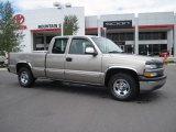 2002 Light Pewter Metallic Chevrolet Silverado 1500 LS Extended Cab #31477870