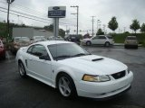 1999 Crystal White Ford Mustang GT Coupe #31478079