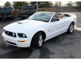 2007 Performance White Ford Mustang GT Premium Convertible #31477903