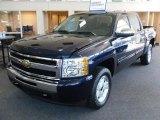 2010 Imperial Blue Metallic Chevrolet Silverado 1500 LT Crew Cab 4x4 #31478552