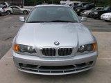 2001 Titanium Silver Metallic BMW 3 Series 325i Convertible #31478121