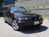 2004 Jet Black BMW 3 Series 325xi Sedan #31478679