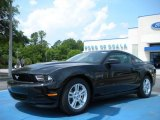 2011 Ebony Black Ford Mustang V6 Coupe #31478044