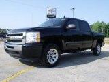 2010 Black Chevrolet Silverado 1500 LS Crew Cab #31478226