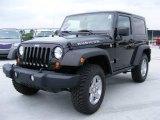 2010 Black Jeep Wrangler Rubicon 4x4 #31536912