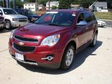 2010 Cardinal Red Metallic Chevrolet Equinox LTZ AWD #31536561