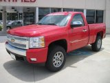 2008 Victory Red Chevrolet Silverado 1500 LT Regular Cab 4x4 #31536796
