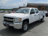 2010 Chevrolet Silverado 3500HD Work Truck Crew Cab 4x4 Chassis Utility Data, Info and Specs
