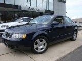 2004 Moro Blue Pearl Effect Audi A4 1.8T quattro Sedan #31536617