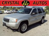 2002 Bright Silver Metallic Jeep Grand Cherokee Limited 4x4 #31536972
