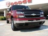 2006 Sport Red Metallic Chevrolet Silverado 1500 LT Crew Cab 4x4 #31536873