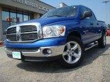 2007 Electric Blue Pearl Dodge Ram 1500 SLT Quad Cab #31536480