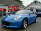 2009 Monterey Blue Nissan 370Z Sport Touring Coupe #31536897