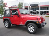 2006 Flame Red Jeep Wrangler SE 4x4 #31584804