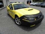 2003 Zinc Yellow Ford Mustang GT Coupe #31585167