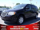 2010 Chrysler Town & Country Dark Cordovan Pearl