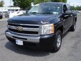 2009 Black Chevrolet Silverado 1500 LT Crew Cab 4x4 #31584813