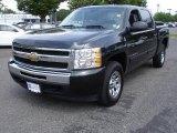 2009 Black Chevrolet Silverado 1500 LT Crew Cab 4x4 #31584814