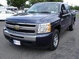 2009 Imperial Blue Metallic Chevrolet Silverado 1500 LT Crew Cab 4x4 #31584815