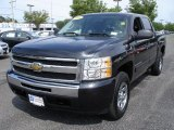 2009 Black Granite Metallic Chevrolet Silverado 1500 LT Crew Cab 4x4 #31584816