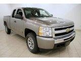 2009 Graystone Metallic Chevrolet Silverado 1500 LT Extended Cab 4x4 #31585431