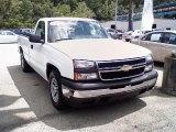 2006 Summit White Chevrolet Silverado 1500 Work Truck Regular Cab #31584842