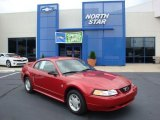 1999 Laser Red Metallic Ford Mustang V6 Coupe #31585059
