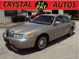 2002 Light Parchment Gold Lincoln Town Car Executive #31585459