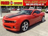 2010 Inferno Orange Metallic Chevrolet Camaro SS Coupe #31585462