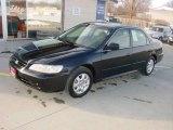 2002 Nighthawk Black Pearl Honda Accord EX Sedan #3159906