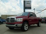 2007 Flame Red Dodge Ram 1500 Thunder Road Quad Cab 4x4 #31585100