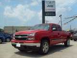 2007 Victory Red Chevrolet Silverado 1500 Classic LT Extended Cab 4x4 #31585105