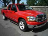 2006 Flame Red Dodge Ram 1500 SLT Quad Cab #31584934