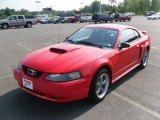 2002 Torch Red Ford Mustang GT Coupe #31644304