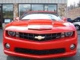 2010 Inferno Orange Metallic Chevrolet Camaro SS/RS Coupe #31644307