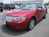 2007 Vivid Red Metallic Lincoln MKZ AWD Sedan #31643827