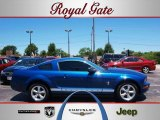 2007 Vista Blue Metallic Ford Mustang V6 Premium Coupe #31643610