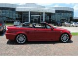 2005 Imola Red BMW 3 Series 330i Convertible #31644142