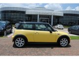 2005 Liquid Yellow Mini Cooper S Hardtop #31644148