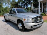 2008 Bright Silver Metallic Dodge Ram 3500 Big Horn Edition Quad Cab Dually #31643841